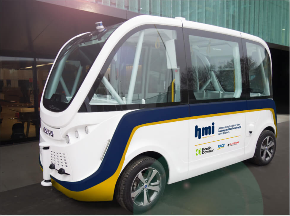 HMI Technologies lead Autonomous Vehicle (AV) trial in Melbourne